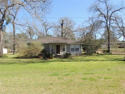 Grimes County Single Family Home Pending: 15598 West Loop Drive