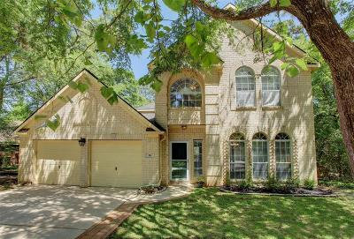 The Woodlands Single Family Home For Sale: 18 Long Hearth Place