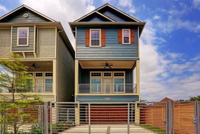Houston Single Family Home For Sale: 1505 Everett Street