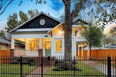Houston Single Family Home For Sale: 1210 Cordell Street