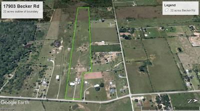 Hockley Farm & Ranch For Sale: 17903 Becker Road