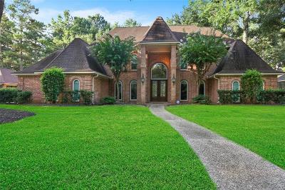 Houston Single Family Home For Sale: 2110 Bluff Creek Drive