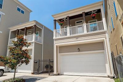 Houston Single Family Home For Sale: 607 Allston Street