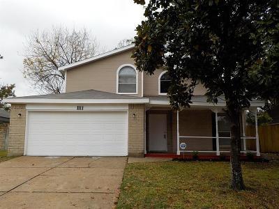 Channelview Single Family Home For Sale: 1111 Heathfield Drive
