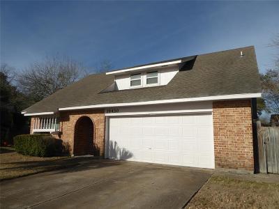 Houston Single Family Home For Sale: 19430 Gagelake Lane