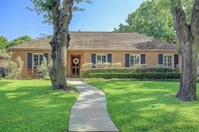 Houston Single Family Home For Sale: 6147 Meadow Lake Lane