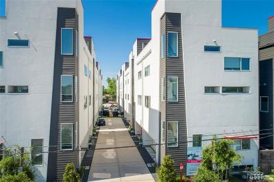 Houston Condo/Townhouse For Sale: 1156 W 19th Street