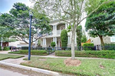 Houston Single Family Home For Sale: 2706 Wroxton Road
