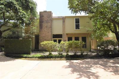 Houston Single Family Home For Sale: 15581 Memorial Drive