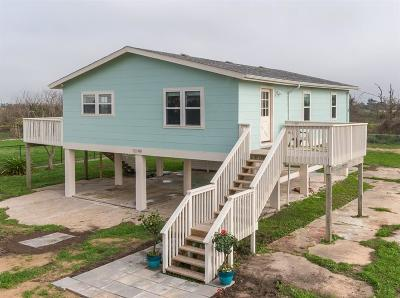 Galveston Single Family Home For Sale: 12149 Ostermeyer Road