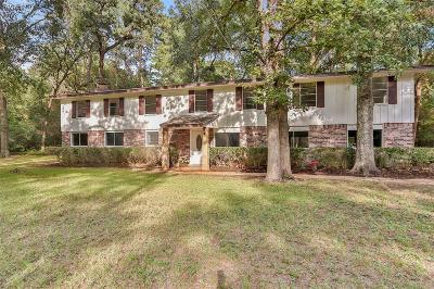 Montgomery Single Family Home For Sale: 5825 Pinehurst Dr Drive