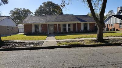 Houston Single Family Home For Sale: 4939 Wigton Drive