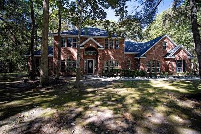 New Caney Single Family Home For Sale: 23969 Majestic Forest