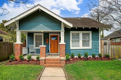 Houston Single Family Home For Sale: 203 Munford Street