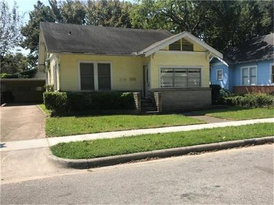 Houston Single Family Home For Sale: 1126 Jerome Street