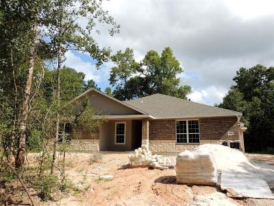 Montgomery Single Family Home For Sale: 4418 Honea Egypt Road
