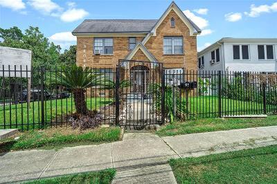Houston Multi Family Home For Sale: 5121 Polk Street