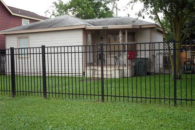 Single Family Home For Sale: 5523 Avenue O