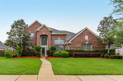 Friendswood Single Family Home For Sale: 1206 Cambridge Drive