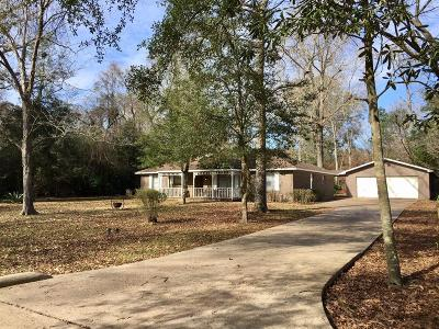 New Caney Single Family Home For Sale: 205 Holly Lane