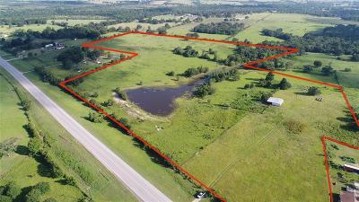 Navasota Farm & Ranch For Sale: 44 Acres Hwy 105