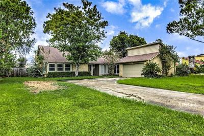 Dickinson Single Family Home For Sale: 3724 Evergreen Drive