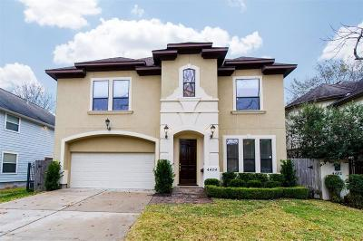 Bellaire Single Family Home For Sale: 4404 Oleander Street