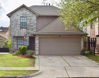 Channelview Single Family Home For Sale: 1119 Littleport Lane