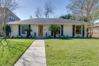 Houston Single Family Home For Sale: 3103 Winslow Street