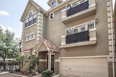 Houston Condo/Townhouse For Sale: 3541 W Dallas Street
