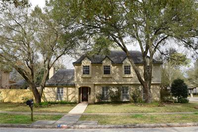 Jersey Village Single Family Home Pending: 16110 Saint Helier Street
