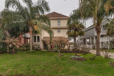Galveston Single Family Home For Sale: 13514 Windlass Circle