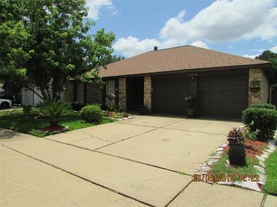 Katy Single Family Home For Sale: 19315 Winding Branch Drive