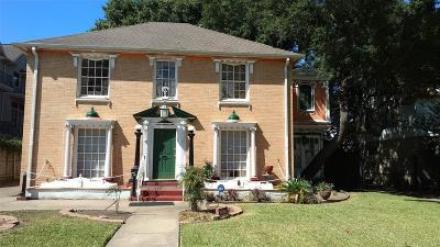 Houston Single Family Home For Sale: 2330 Dorrington Street