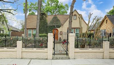 Houston Single Family Home For Sale: 2135 Colquitt Street
