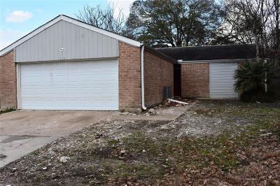 Houston TX Single Family Home For Sale: $75,000