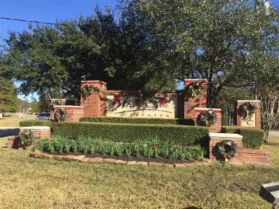 Conroe Residential Lots & Land For Sale: 11961 White Oak Place