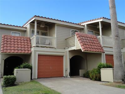 Galveston Condo/Townhouse For Sale: 19 E Dana Drive