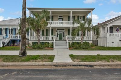 Galveston Single Family Home For Sale: 1424 Mechanic Street