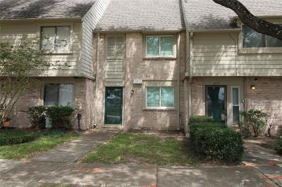 Houston Condo/Townhouse For Sale: 2113 Weldon Drive