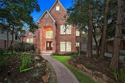 The Woodlands Single Family Home For Sale: 15 Hidden Pond Place