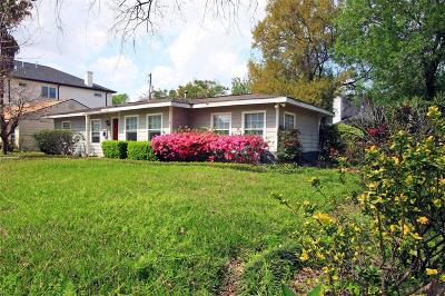 Bellaire Single Family Home For Sale: 4300 Dorothy