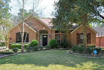 The Woodlands Single Family Home For Sale: 18 Rolling Stone
