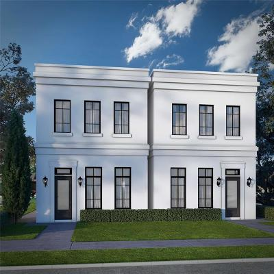 Houston Condo/Townhouse For Sale: 3503 Mosley #A