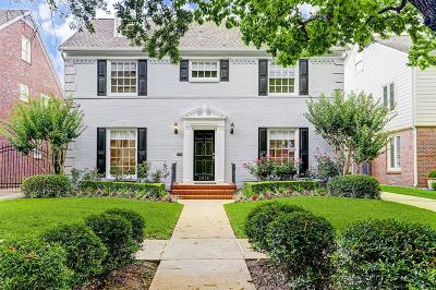 West University Place Single Family Home For Sale: 2618 Cason Street
