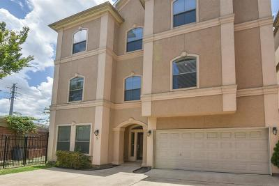 Houston Single Family Home For Sale: 607 Oakley Street #5