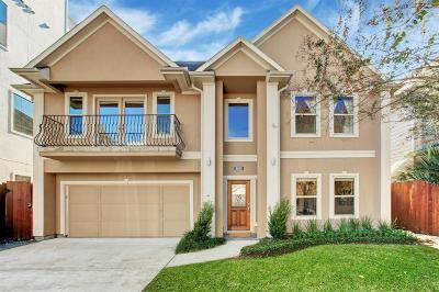 Houston Single Family Home For Sale: 6105 Hamman Street