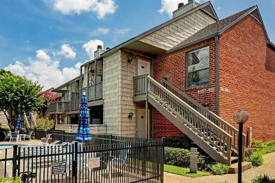 Houston Condo/Townhouse For Sale: 2829 Timmons Lane #192