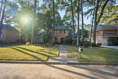 Kingwood Single Family Home For Sale: 3527 Oak Lake Drive