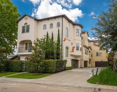 Houston Single Family Home For Sale: 4708 Ingersoll Street #B
